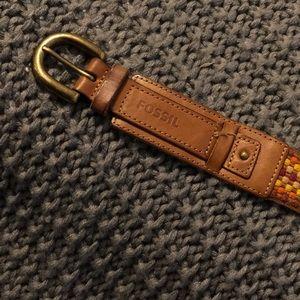 Vintage Fossil Belt